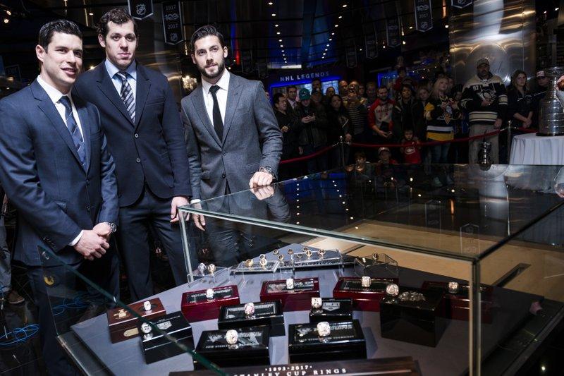 Sidney Crosby, Evgeni Malkin, Chris Letang