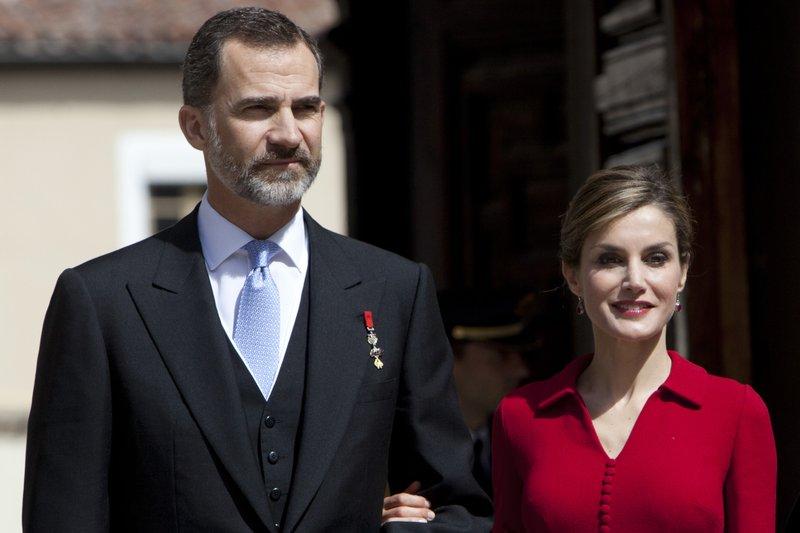 King Felipe VI of Spain, Queen Letizia of Spain