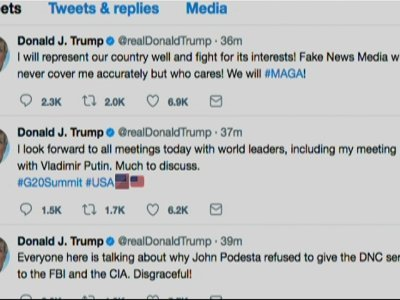 Trump Tweet: Looking Forward to Putin Meeting