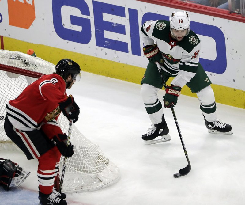 Jason Zucker, Duncan Keith