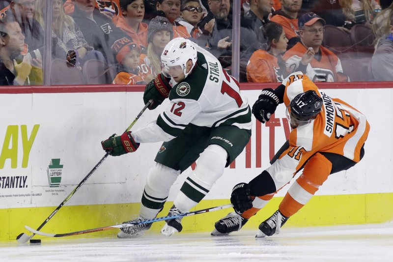 Wayne Simmonds, Eric Staal