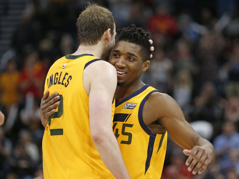 Donovan Mitchell, Joe Ingles