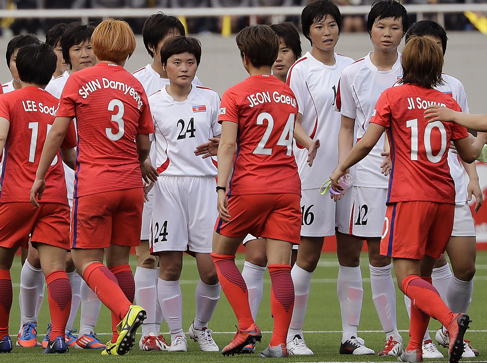 c345d5186 Sports no path to peace as the 2 Koreas face off in soccer