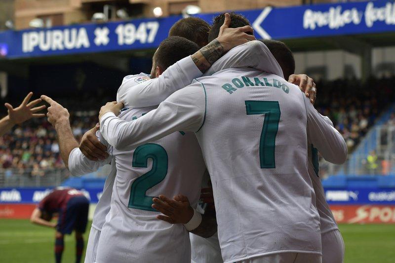 Cristiano Ronaldo, Lucas Vazquez, Daniel Carvajal