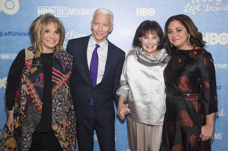 Anderson Cooper, Gloria Vanderbilt, Sheila Nevins, Liz Garbus