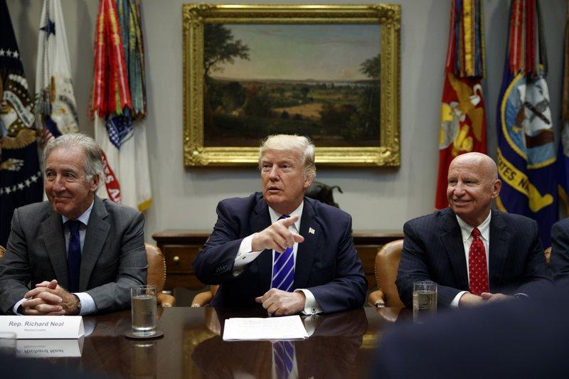 Donald Trump, Kevin Brady, Richard Neal