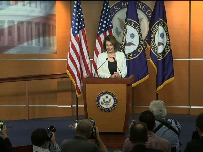 Pelosi: Trump, Dems Agreed to 'Move Forward'
