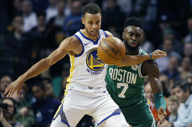Jaylen Brown, Stephen Curry