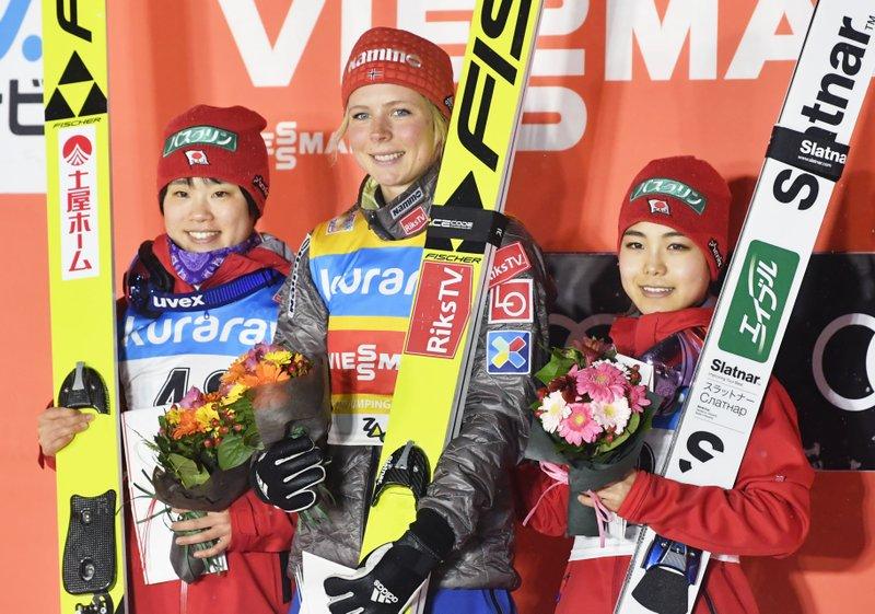 Maren Lundby, Yuki Ito, Sara Takanashi