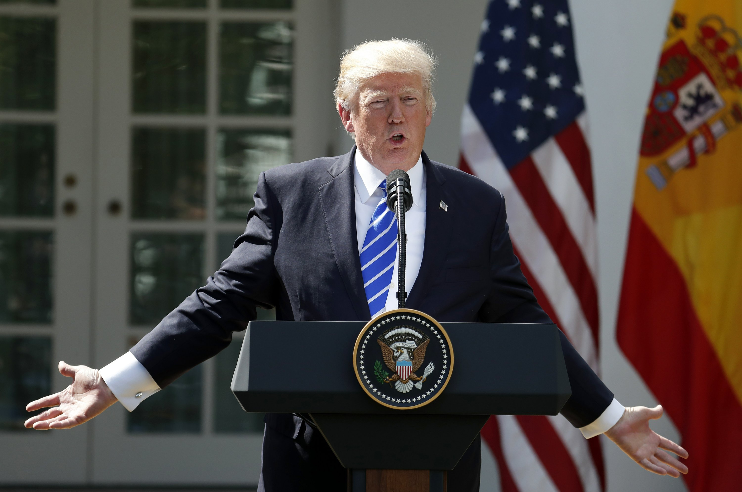 Trump misfired on tweet about Iranian missile launch