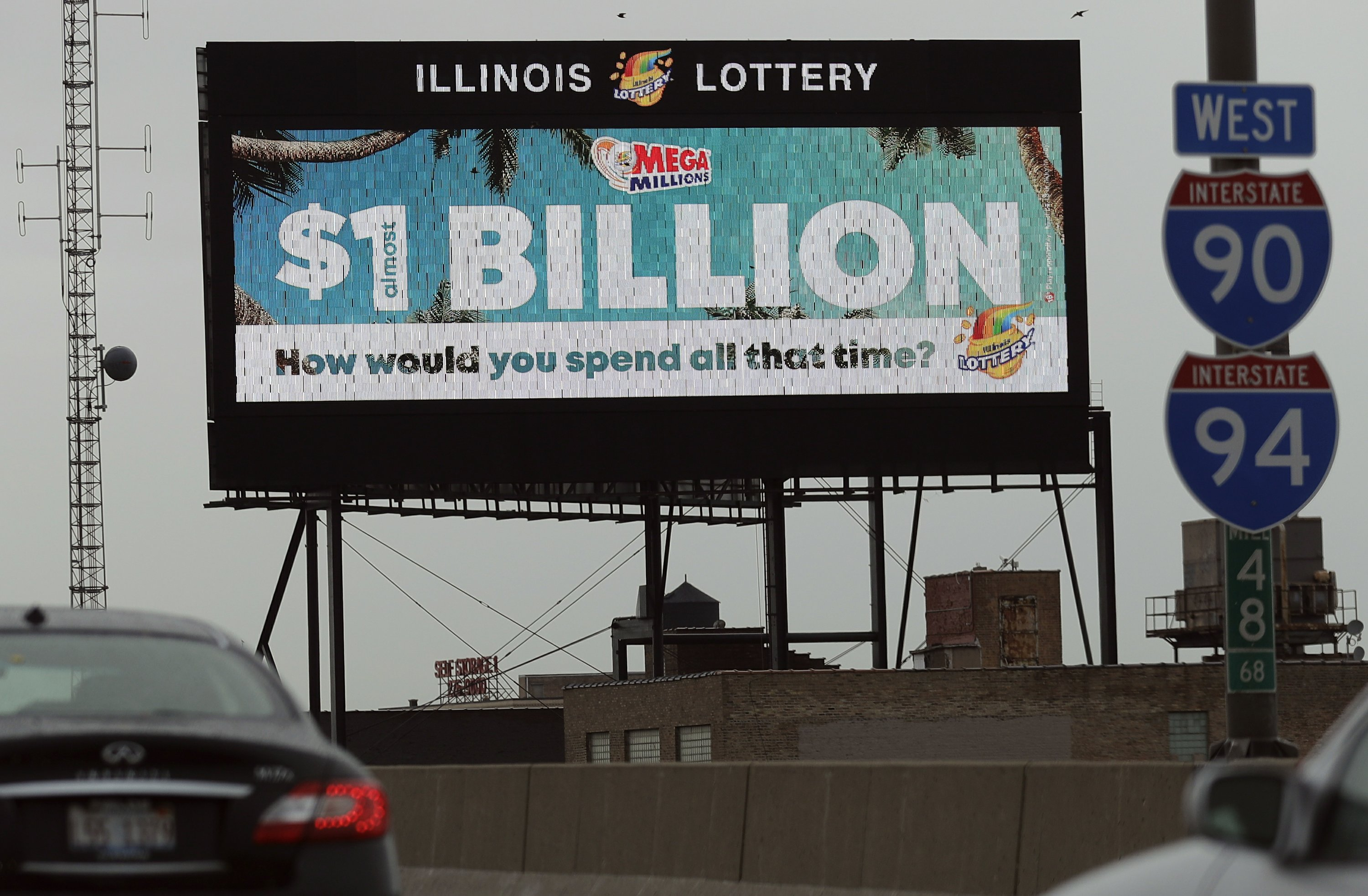Health Lottery Odds >> Mega Millions Jackpot Hits 1b Thanks To Worsening Odds