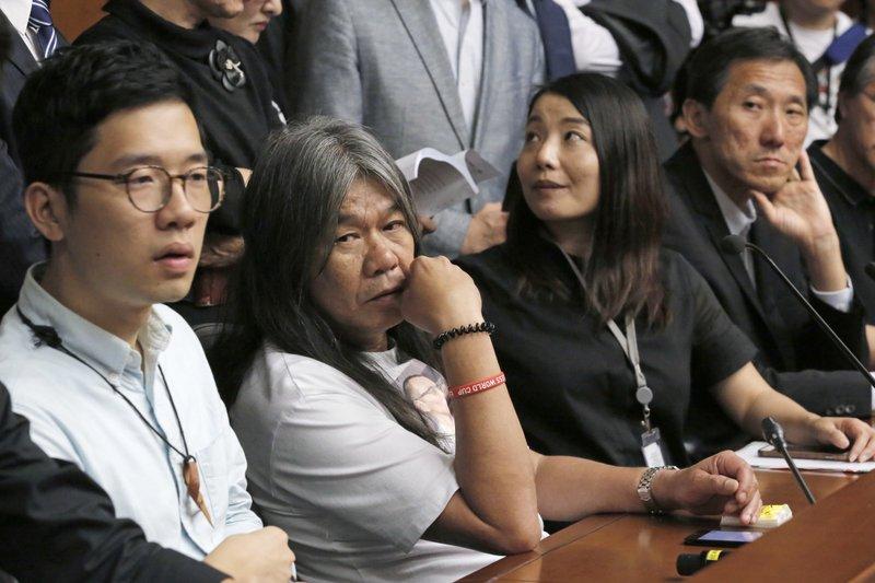 Edward Yiu, Nathan Law, Leung Kwok-hung, Lau Siu-lai