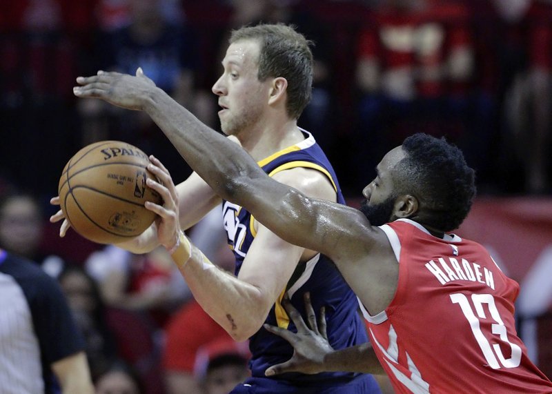Joe Ingles, James Harden