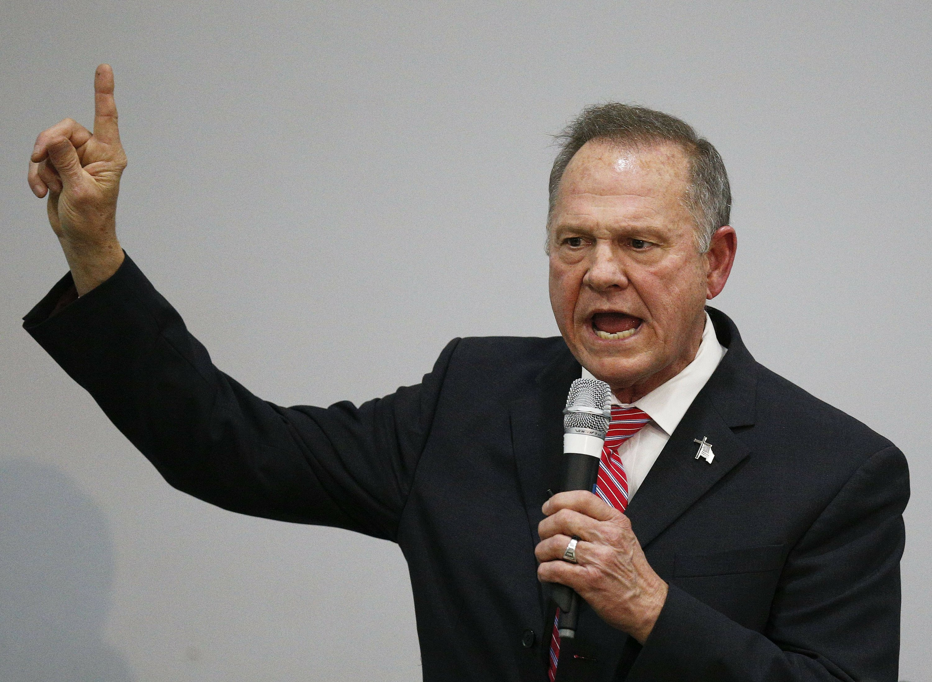 The Latest: Alabama Republican Party says it stands by Moore