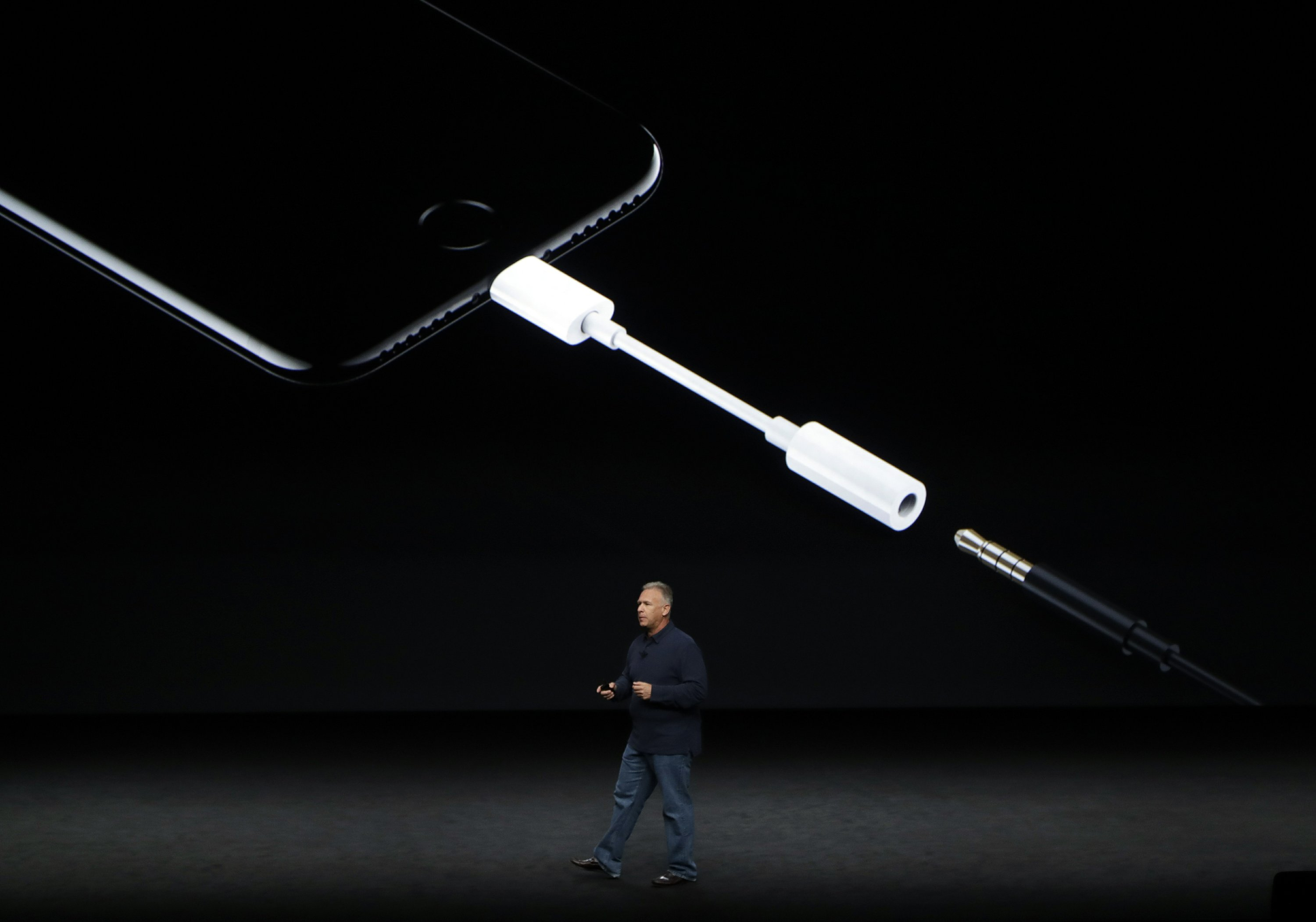 Say goodbye to the iPhone's headphone jack