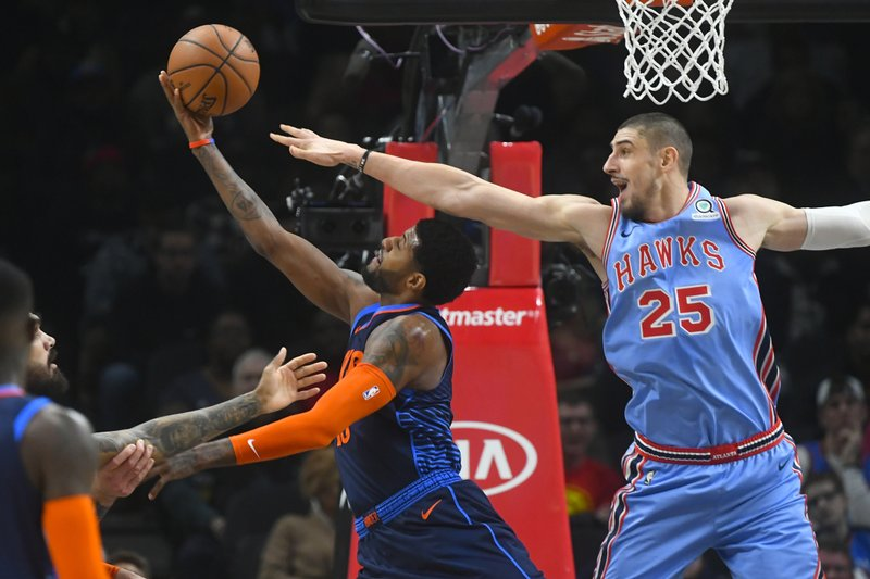 quite nice 4b949 ac076 Young wins point guard battle, Hawks top Thunder 142-126