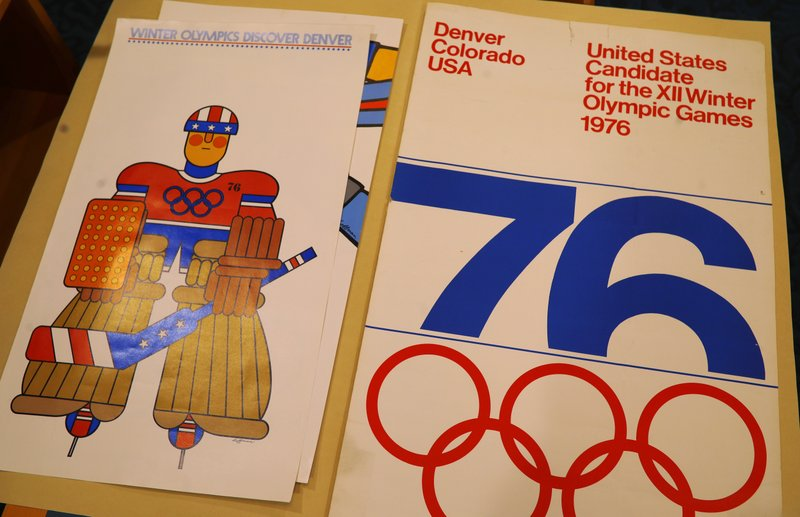 posters from Denver 1976 Winter Olympic bid