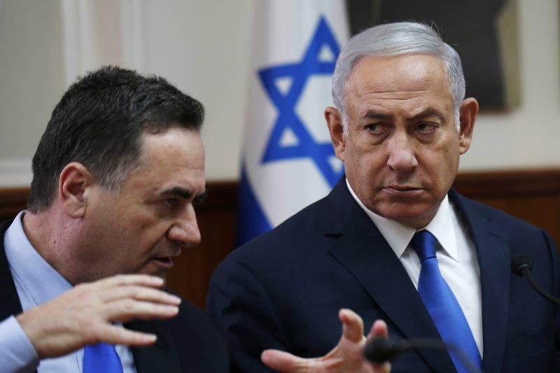 Weekly cabinet meeting at Prime Minister Benjamin Netanyahu office in Jerusalem