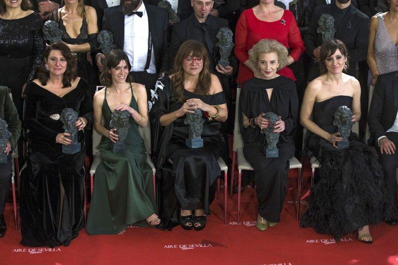 Nathalie Poza, Marisa Paredes, Isabel Coixet, Bruna Cosi, Adelfa Calvo