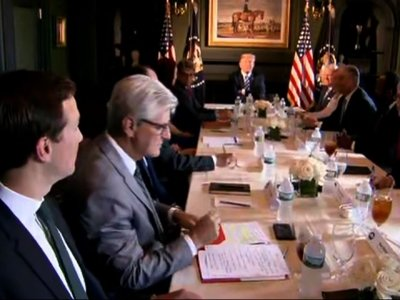 Trump, State Officials Discuss Prison Reform