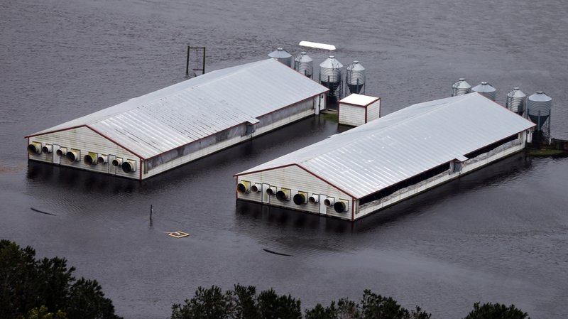 North Carolina floods prevent inspectors from studying environmental harm