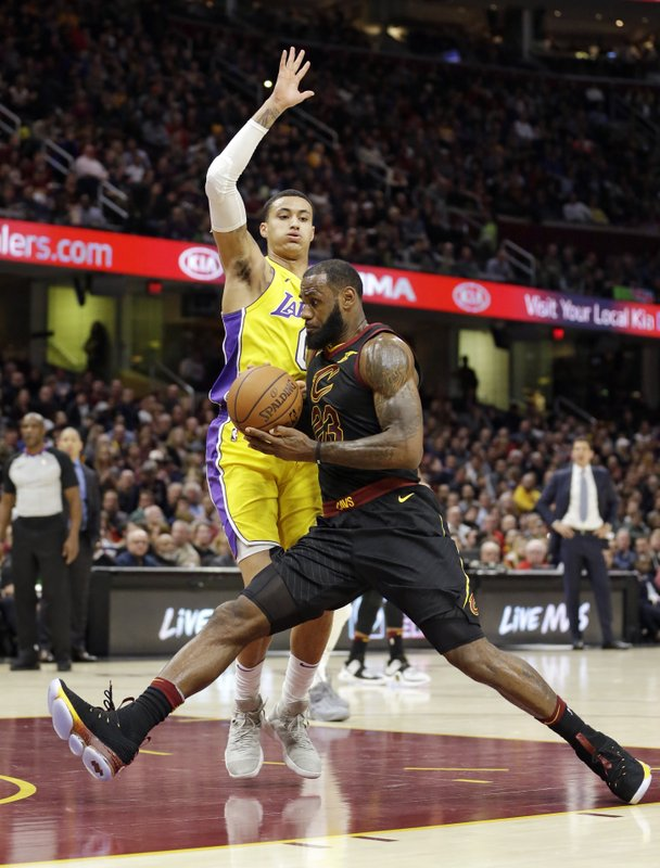 Kyle Kuzma, LeBron James