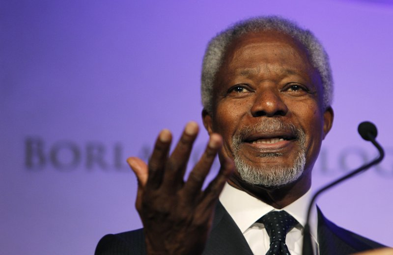 The United Nations That Kofi Annan Served Pays Tribute