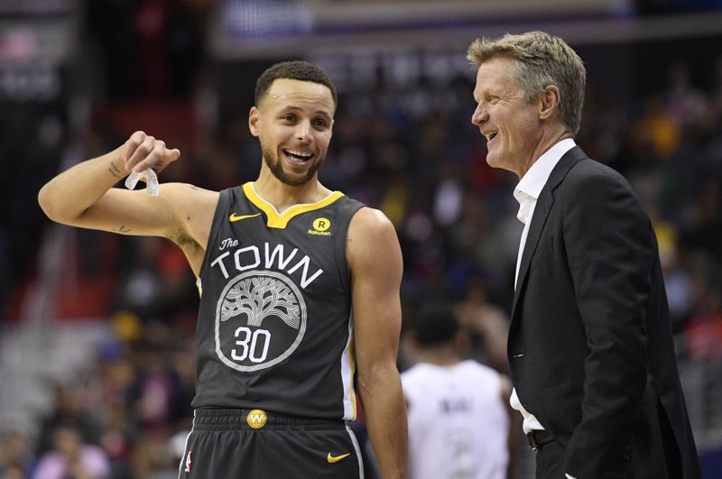 Stephen Curry, Steve Kerr