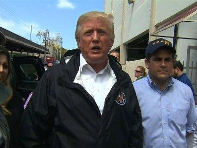 Trump Praises Hurricane Response in Puerto Rico