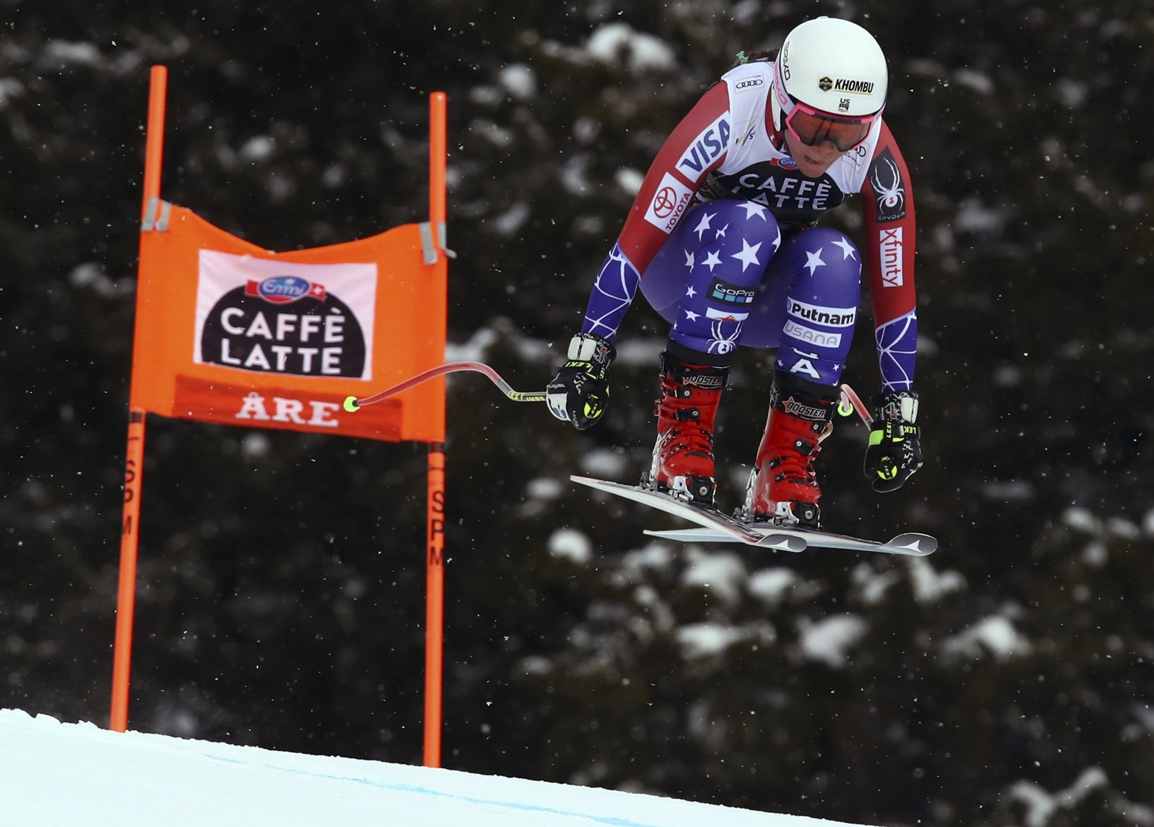 Downhill racer Breezy Johnson out for season with torn ACL
