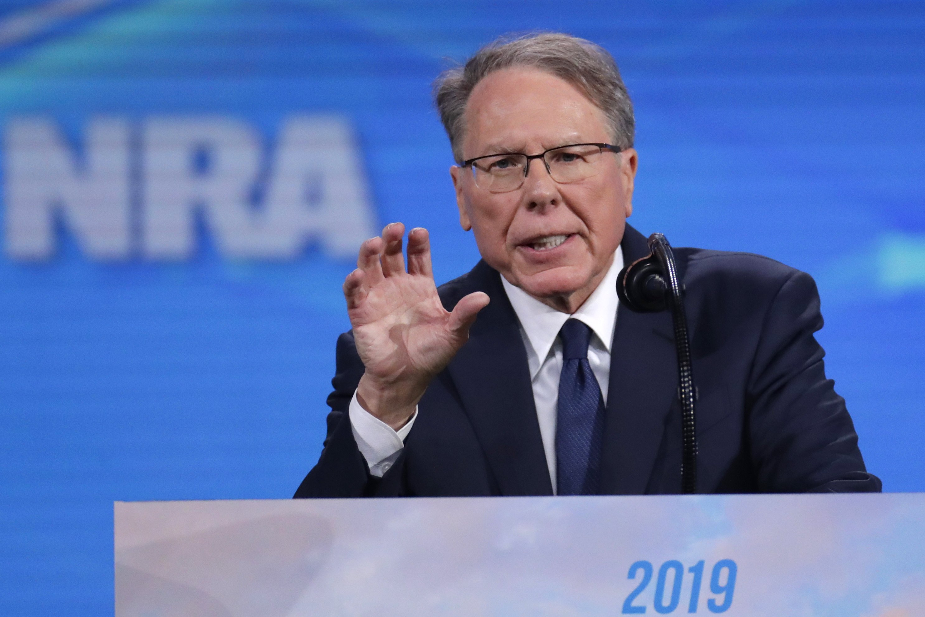 Inner-turmoil surrounding NRA deepens during its convention