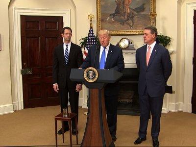 Trump Wants New Limits On Legal Immigration