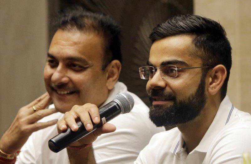 Virat Kohli, Ravi Shastri
