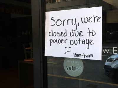 Power Outage Struck Wide Area of San Francisco