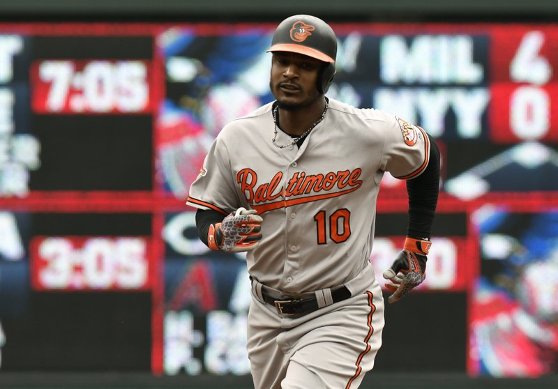 Adam Jones homers twice and Orioles pound Twins 11-5