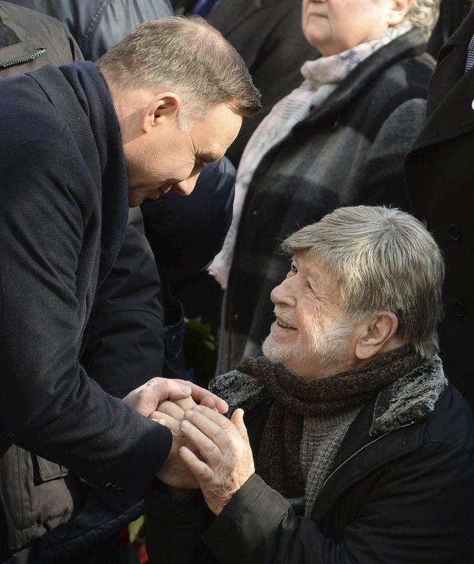 Andrzej Duda, Shevah Weiss