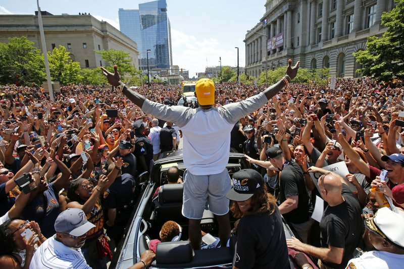 Title drought over, Cleveland thirsts for more championships