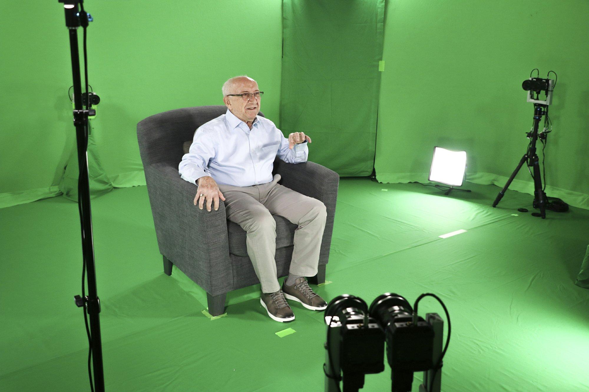apnews.com - Jamie Stengle - Technology brings images of Holocaust survivors to life