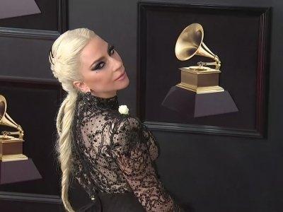 Gaga, Cardi B. among stars wearing white roses for Grammys