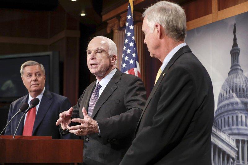 John McCain, Lindsey Graham, Ron Johnson
