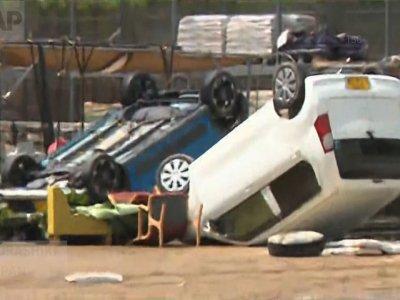 Raw: Rain Storms Kill 100 In Japan