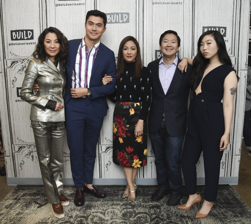 Michelle Yeoh, Henry Golding, Constance Wu, Ken Jeong, Awkwafina