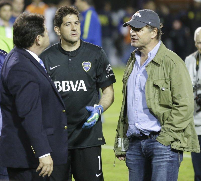 Roger Bello, Agustin Orion, Alejandro Burzaco