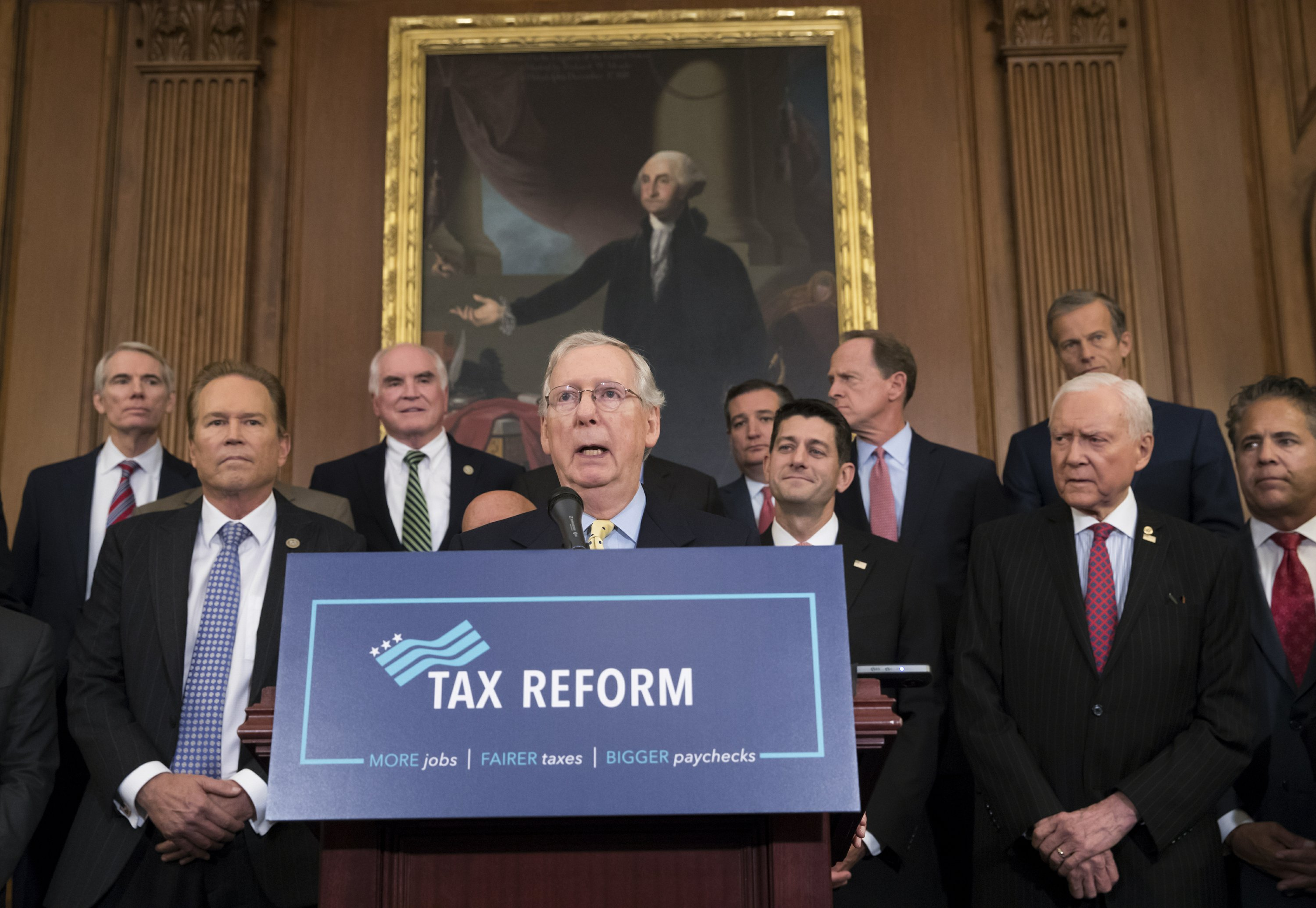 Tax package would lower top tax rate for wealthy Americans