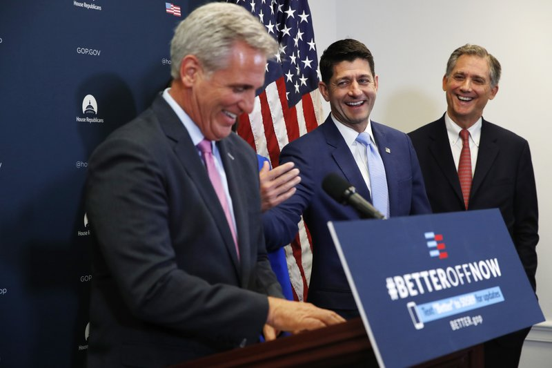 Paul Ryan, Kevin McCarthy, French Hill
