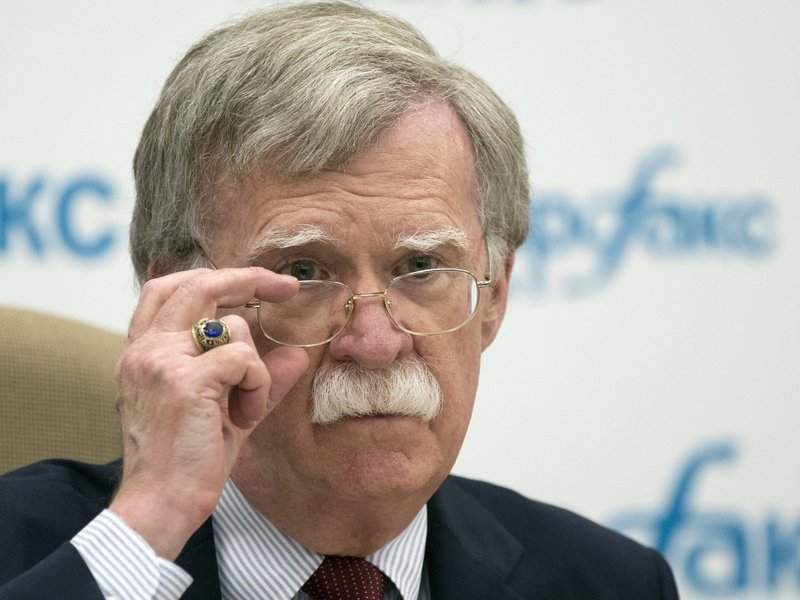 Bolton says U.S. has plan for North Korea denuclearization