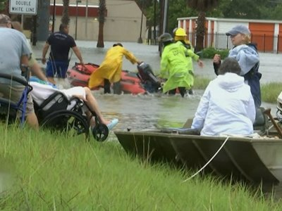 Residents Describe 'Disaster' in Harvey's Wake