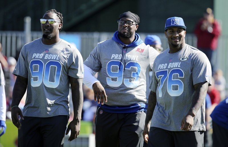 DeMarcus Lawrence, Gerald McCoy, Mike Daniels