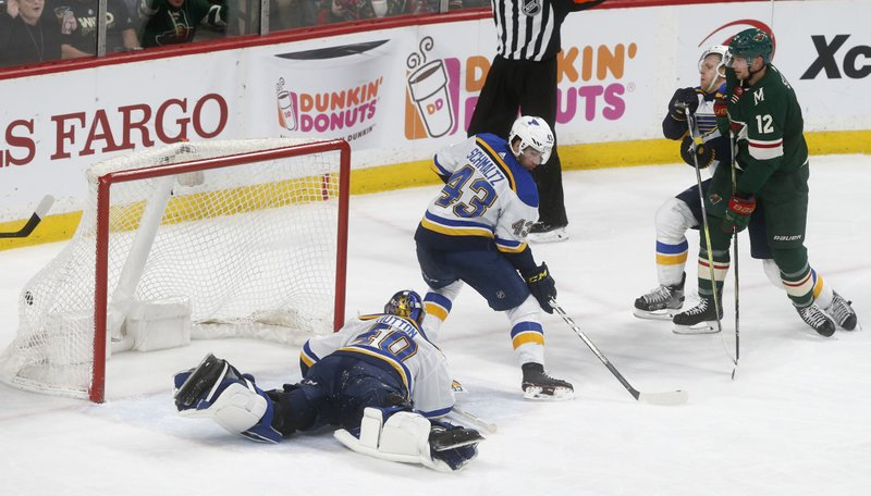 Eric Staal, Carter Hutton