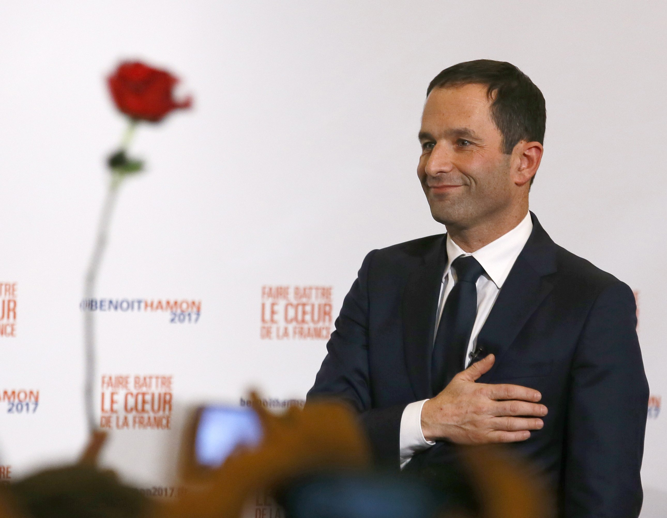 Hard work starts now for France's Socialist candidate